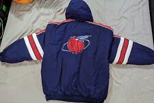 Vtg Rare NBA Houston Rockets Starter Puffer Jacket. Mens XL Extra Large