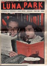 rivista fotoromanzo - LUNA PARK - Anno 1949 Numero 50 J. JOHNSON E K. GRAYSON