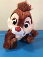 Vintage Disneyland Walt Disney World Plush Chip 'n Dale (DALE) Chipmunk 8""