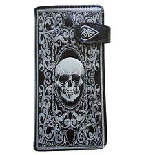 Nemesis now - Skull Tarot Purse 18.5cm, Gothic black/white, Shag Wear large Gift