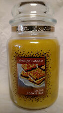 Yankee Candle Magic Cookie Bar Large Jar 22 oz Limited Scent - New!