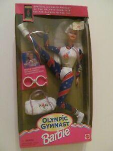 Barbie Olympic Gymnast (Atlanta Olympics) - 1995 - No. 15123 - Damaged Open Box