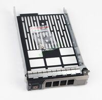"DELL POWEREDGE SAS SATA HDD TRAY CADDY 3.5"" LFF G302D F238F X968D US-Seller"