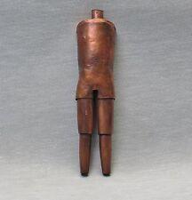 Wonderful Constructivist Mid-Century Bronze/Brass Sculputure -- LEWIN (c. 1960s)