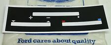 FORD TF MK5 CORTINA BRAND NEW HEATER CONTROL PANEL REPLACEMENT DECAL