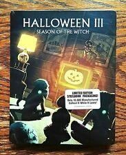 Halloween III 3 Steelbook Blu-ray NEW Sealed Limited Edition Scream Factory