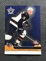 2001-02 PACIFIC VANGUARD DANY HEATLEY ROOKIE BLUE #3