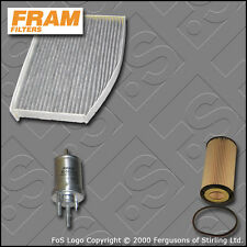 SERVICE KIT for SEAT LEON (1P) 2.0 FSI FRAM OIL FUEL CABIN FILTERS (2005-2010)