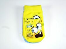 NEW 6 PAIRS BOYS GIRLS SPONGEBOB SQUAREPANT NON SKID SOCKS SIZE 18-24M NS5
