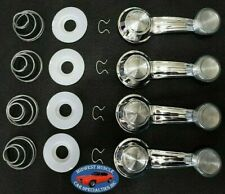 67-81 GM Door Panel Window Glass Regulator Crank Handle Washers Springs Clear RC