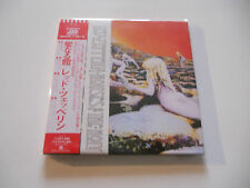 "Led Zeppelin ""House of the holy"" Rare Japan cd Paper Sleeve"