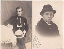 2 x AK SCHAUSPIELER ? um 1920 Franzi Kubicek  ( 1134