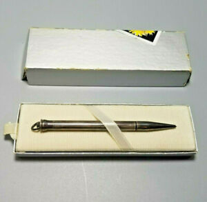 Vintage CROSS Ring Top Sterling Silver Mechanical Pencil w Original box