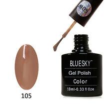 A105 Bluesky Brown Delight AAAA Range Soak Off Gel Nail Polish 10ml