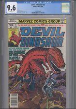Devil Dinosaur #5 CGC 9.6 1978 Marvel Jack Kirby Story Cover & Art : NEW Frame