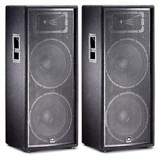 "JBL JRX225 Dual 15"" Two-Way Sound Reinforcement Loudspeaker System (PAIR)"
