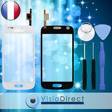 Ecran vitre tactile pour Samsung Galaxy Ace 3 S7270 S7272 S7275 blanc+kit outils