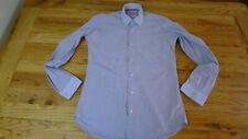 Genuine ETRO blue striped  men's long sleeve shirt size S
