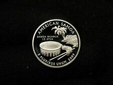 2009-S PROOF Silver Washington Territories Quarters AMERICAN SAMOA