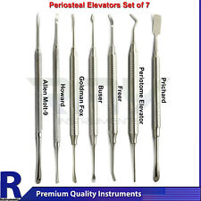 7pcs Implant Surgical Periosteal Elevators Dental Prichard Molt Sinus Lift Tools