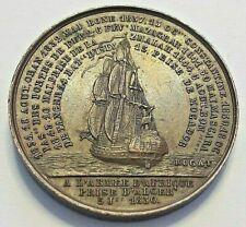 Algeria, Médaille, A l'Armée d'Afrique Prise d'Alger 1844, Rogat Algérie France