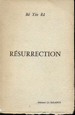 Livre: Bô Yin Râ: résurrection. la balance. F