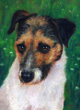 artav Jack Russell Terrier Art Print From Painting