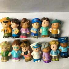 Random 10 Lot Fisher Price Little People Construction Figure Xmas Boy Girl Toys