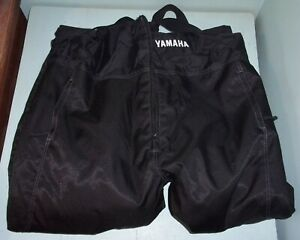 Yamaha Womens Adventure Bibs Black Size 20 Snowmobile Snow Machine Winter Wear
