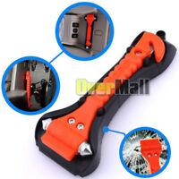 Car Safety Escape Glass Window Breaker Emergency Hammer Seat Belt Cutter Tool US