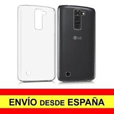 Funda Silicona para LG K7 Carcasa Transparente Protector TPU a2200