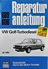 VW Volkswagen Golf Turbodiesel Motor Technik  Werkstatt Handbuch  repair manual