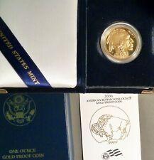 2006 W $50 American Gold Buffalo, Superb Gem+ Proof, Original Box & C.O.A.