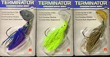 Terminator SDB Shuddering Bait Swim Jig 3/8 or 1/2 oz. CHOOSE SIZE & COLOR NIP