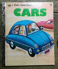 "Little Golden Book #566 ""CARS"" - 1973 - William Dugan"