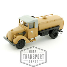 Busch 80021 Ford V8 G917T Military Army Truck Fuel Tanker HO 1:87 Scale Model