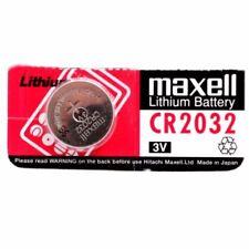 Piles jetables Maxell pour équipement audio et vidéo CR2032