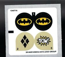 LEGO Batman GOTHAM CITY CYCLE CHASE ~ Replacement STICKER SHEET ONLY #76053  NEW