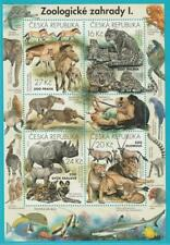 Czech Republic from 2016 Mint Block 61 Zoo Animals