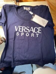 New Versus Gianni VERSACE Sport Cotton Top  Made in Italy