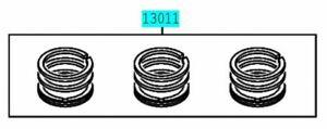 TOYOTA 13011-B2043 Piston Ring Set Genuine PIXIS MEGA JOY EPOCH SPACE COPEN