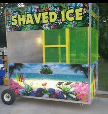 ALL NEW! 8'  Shaved ice building w/ Snowie 3000 Save $$$$ before price increase