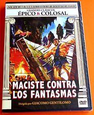 MACISTE CONTRA LOS FANTASMAS / MACISTE CONTRE LES HOMMES DE PIERRE - Precintada