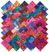 "Kaffe Fassett Collective Bold Bright Precut 5"" Fabric Quilting Squares SQ07"