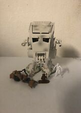 Star Wars Galactic Heroes AT-ST Vehicle w/Figures and Speeder Bike