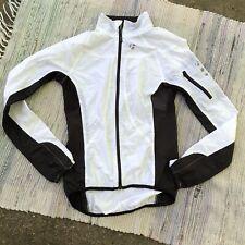Bontrager Jacket Womens XS Cycling Profila Windbreaker Black White Vented Hi Low