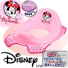 DISNEY Baby Toilet Seat Child Toddler Trainer Training Minnie Mouse Pink