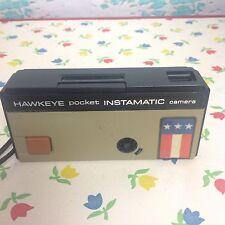 Vintage Kodak Hawkeye Brown Pocket Instamatic Camera Photograph 110 Film 80s 90s