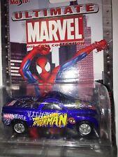 🏁 Maisto 2002 MARVEL DIE CAST COLLECTION Spider-Man - Chevrolet SSR CONCEPT🏁