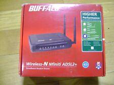 BUFFALO Wireless-N Nfiniti ADSL Wireless Broadband Modem Router - G300N